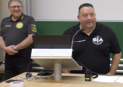 Praxisseminar Krisenmanagement 2019 | Uni-Koblenz: Sergej Kaiser und Jan-Holger Nahler