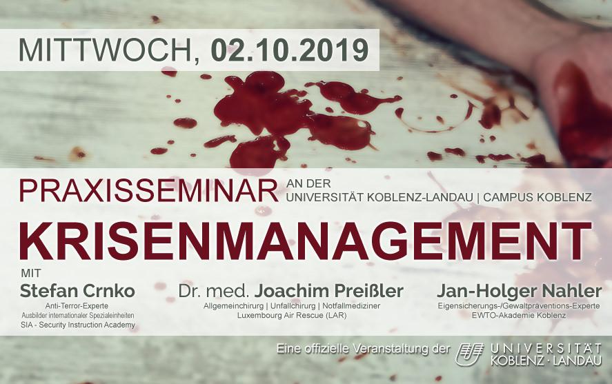 Praxisseminar Krisenmanagement